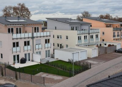 3 Doppelhaushälften mit je 2 Wohnungen