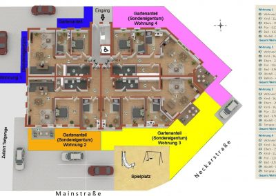 Limburgerhof Erdgeschoß Grundriss