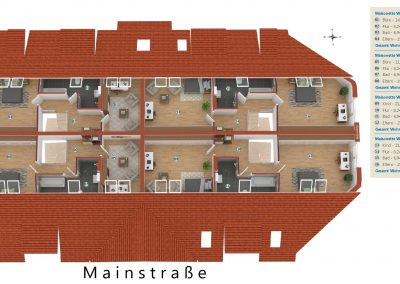 Limburgerhof Dachgeschoß Spitzboden